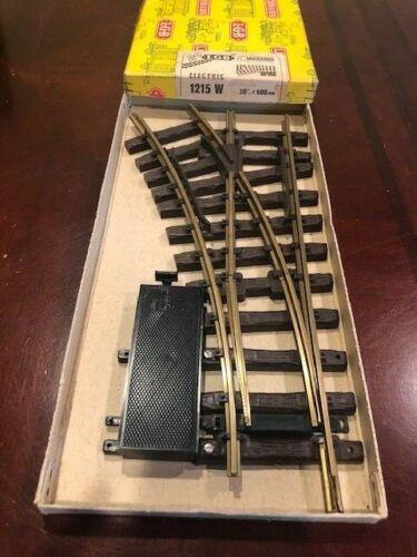 LGB 1215 W Lefthand Electric Remote Control Switch Track