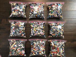 BRAND-NEW-100-Genuine-LEGO-3-lb-Pounds-Lots-Bulk-Lot-Loose-Parts-1000-Pieces