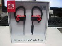 Beats By Dr. Dre Powerbeats3 Wireless In-ear Headphones - Siren Red | Sealed