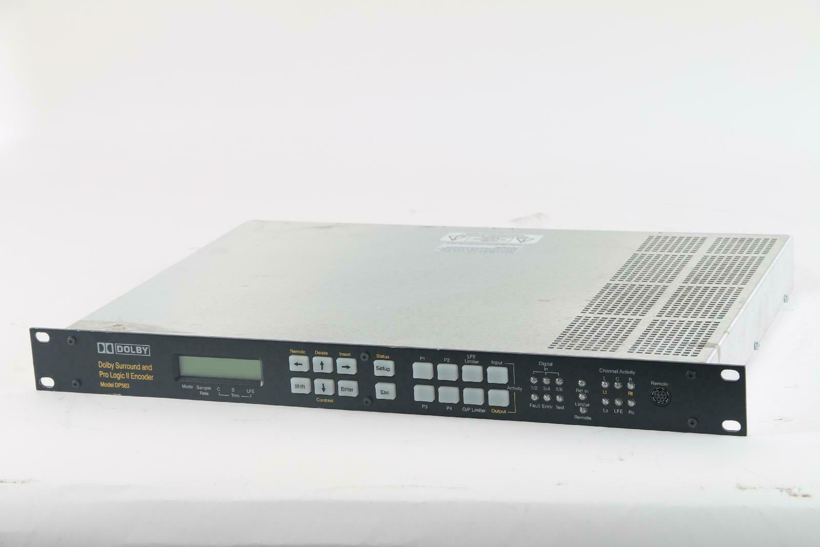 Dolby DP563 Surround und Pro Logic II Encoder Software Version 2.0.6.2