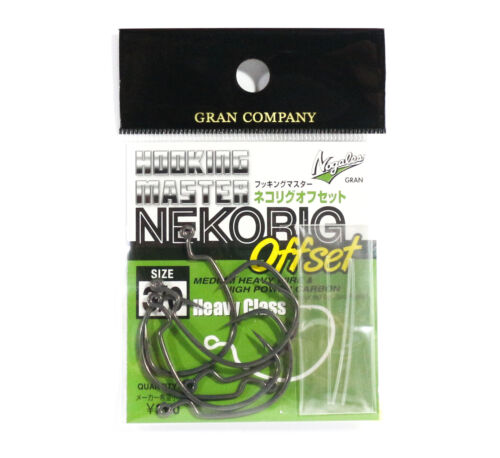 Varivas Hooking Master Worm Hook Neko Rig Offset Heavy Size 3//0 4002