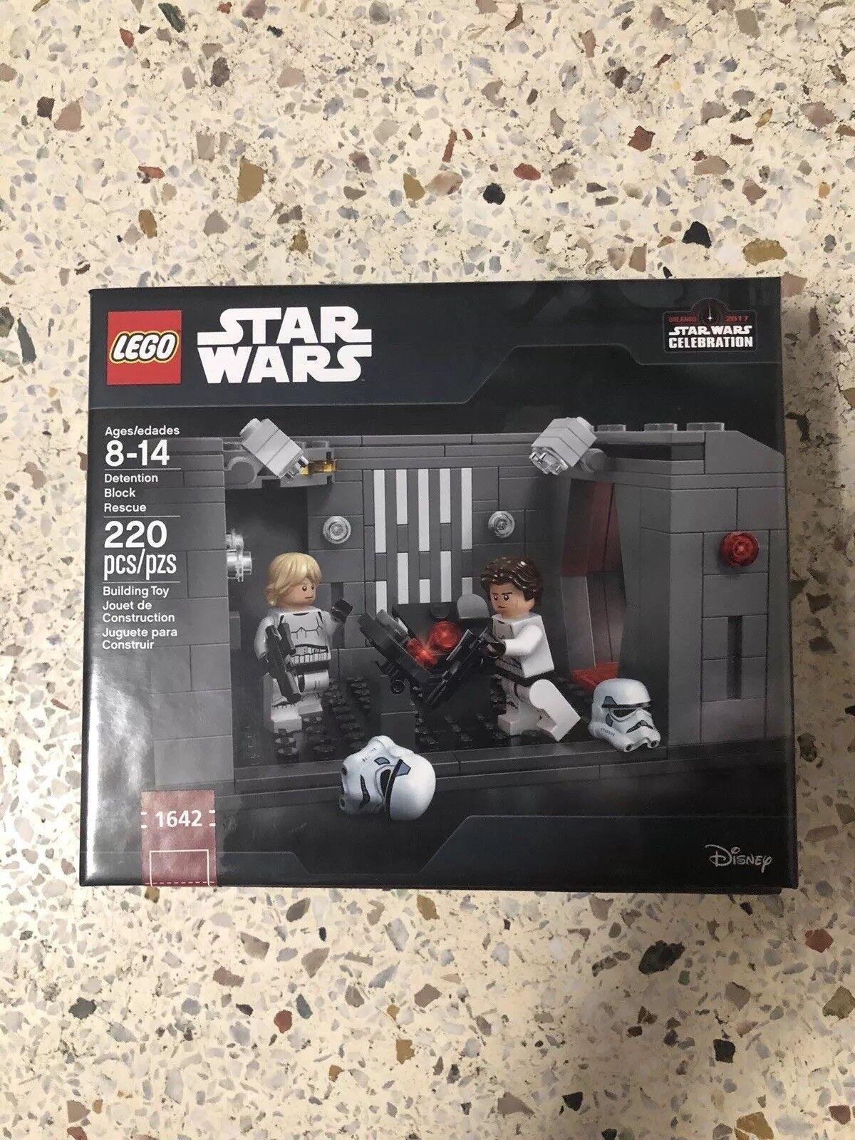 2017 Lego Stern Wars Celebration Detention Block Rescue Set   1642