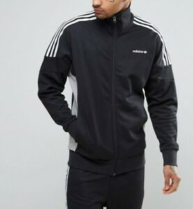 Details about adidas Originals CLR84 Track Jacket In Black BK5915