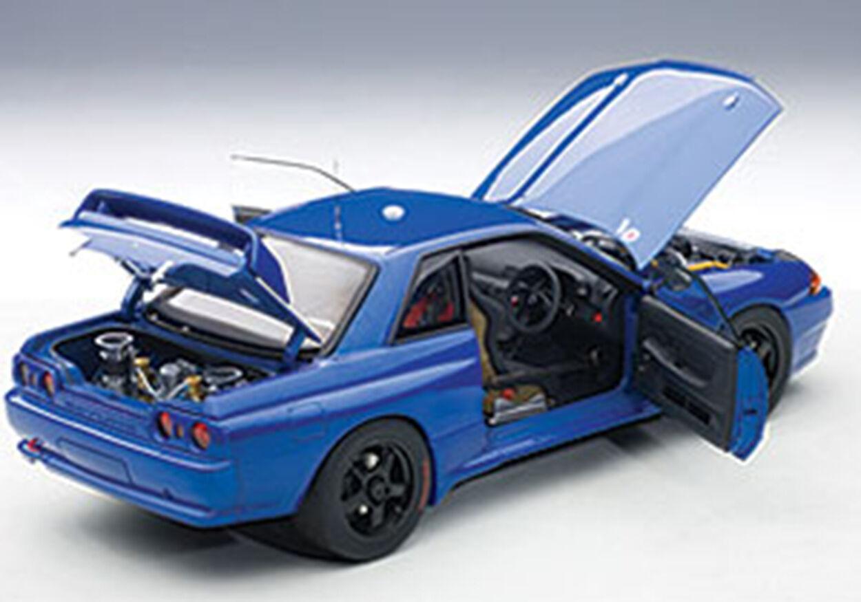 Autoart nissan skyline gt - r r32 australische rennen in bathurst rennen 1992 deutlich version 1   18.