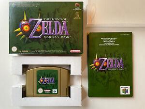 Nintendo 64 - The Legend Of Zelda: Majora's Mask - CIB complete - N64