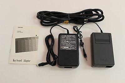 TOSHIBA PA8718U T3100SX KEYBOARD ADAPTER WITH AC ADAPTER PA8713U NEW OPEN BOX