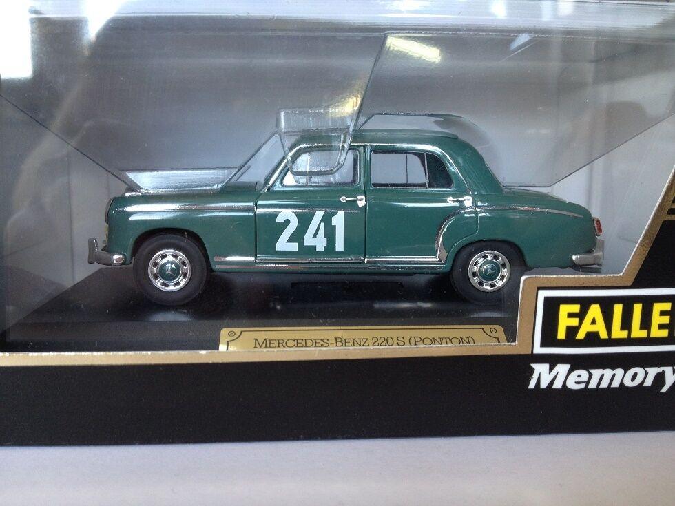 1 43 Faller Mercedes 220a Rallye Monte Carlo 1956 4345