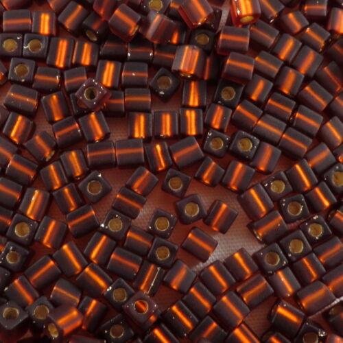 3mm CUBE Miyuki Square Japanese Seed Beads  20g #1-143