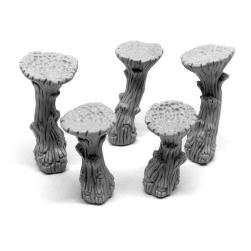 GC/_0053 Cave Mushrooms Set Underdark Myconids DnD Dungeon Dark Cave Morrowind