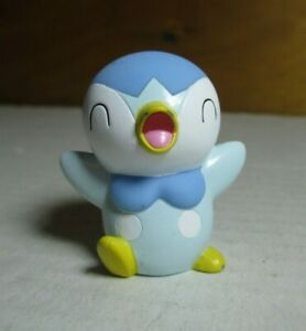 Details about 2006 Pokemon Finger Puppet Shiny Piplup Figure Catch Them All  Nintendo Bandai