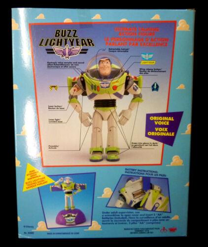 Toy Story Electronic Talking Buzz Lightyear Disney Figure Thinkway 1995 Amricons