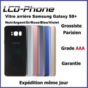 Vitre-arriere-Samsung-Galaxy-S8-Plus-G955F-Avec-logo-Adhesif