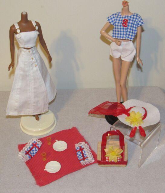 "1996 Barbie Doll Clothes Millicent Roberts /""PICNIC PERFECT/""  Mattel NRFB #16077"