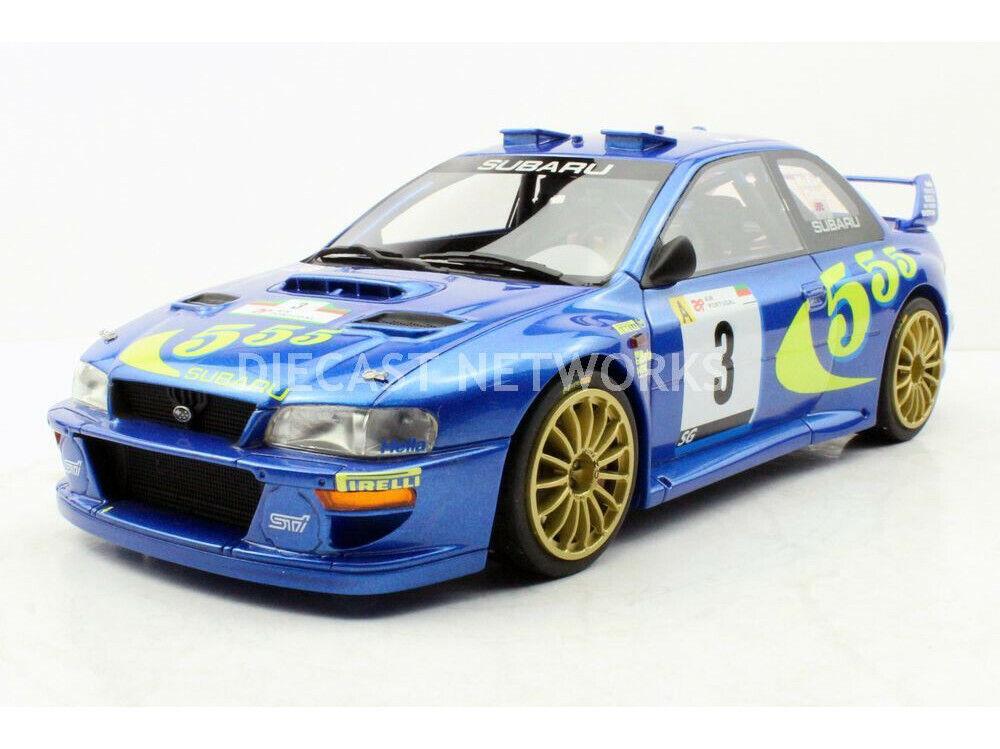 TOP MARQUES SUBARU IMPREZA S4 WRC PORTUGAL rallyE WINER 1998\ 4 18 Ny