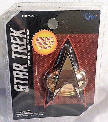 Star Trek The Next Generation Communicator Badge Replica Quantum Mechanix New