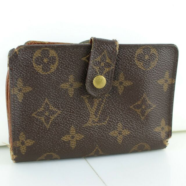 LOUIS VUITTON PORTE MONNAIE BILLETS VIENNOIS Bifold Wallet Monogram M61663 Brown