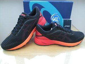 asics homme noir orange