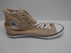 Nuove 11 Top Beige All Star Sneakers Converse scarpe Size High uomo da 86tO1qw