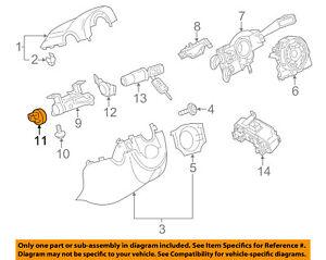 s l300 vw volkswagen oem 11 17 jetta ignition switch 1k0905849 ebay