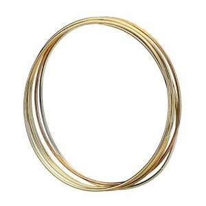 Details About Dream Catcher Hoop Metal Diy Dreamcatcher Ring Hoops Gold Copper Colour 5 Pack