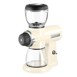 KitchenAid-ARTISAN-Kaffeemuehle-5KCG0702EAC-Creme-15-Mahlstufen