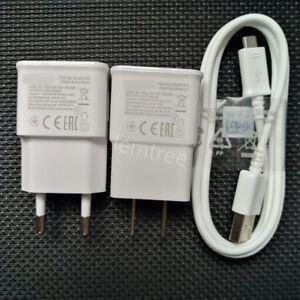 Cargador-De-La-Pared-Del-Recorrido-2A-Cable-Micro-Del-USB-Para-Samsung-J5-2017