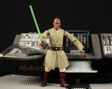 "Hasbro Star Wars 3.75"" Figur 1:18 Jedi Council Master Mace Windu 2004 S287"