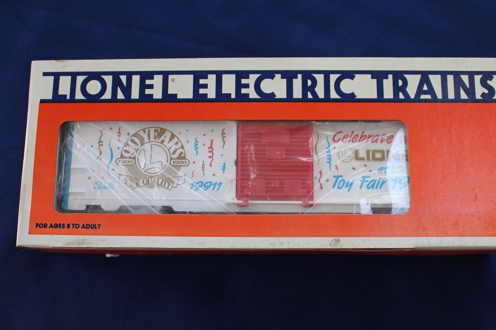 1990 Lionel 6-19911 New York Juguete Fair coche de caja L2946