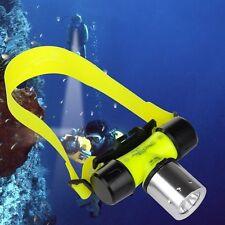 CREE XM-L T6 LED 18650 Waterproof Diving Swimming 1800 Lumen Headlamp Head light