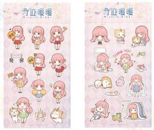 Miracle-Love-Nikki-Official-Puffy-Sticker-Sheet-SET-of-2-Nikki-Momo-Stickers
