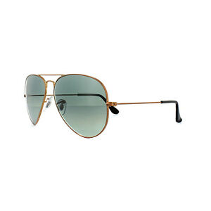 301843d769 Ray-Ban Sunglasses Aviator 3025 197 71 Bronze Copper Grey Gradient ...