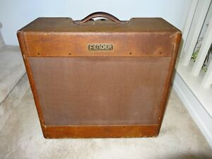 Fender Tweed Amp >> Details About 1953 Fender Tweed Bassman Amplifier Amp
