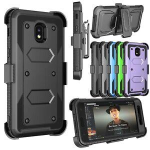 Telephone-Portable-Antichoc-etui-avec-clip-ceinture-Bequille-Housse-Protection-Ecran