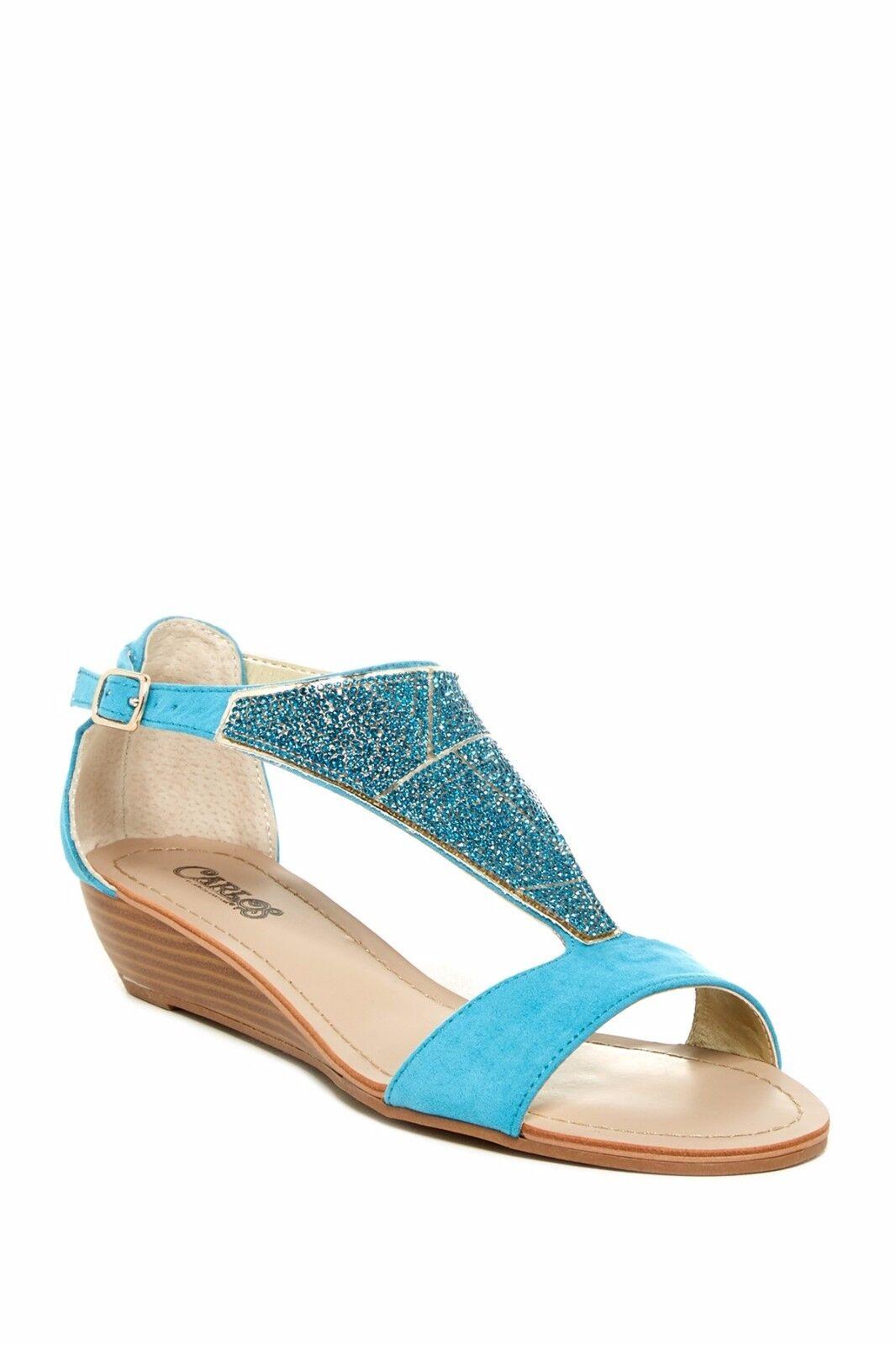 New Carlos By Carlos Santana Glisten Embellished Sandals size 6.5