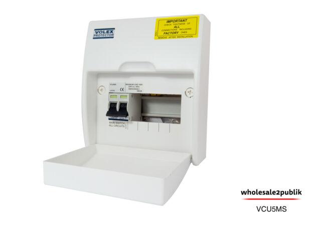 Volex garage unit wiring diagram wiring diagram volex protector 5 way insulated consumer unit wth 100a main switch rh ebay co uk lift master garage door opener wiring diagram detached garage wiring plan asfbconference2016 Choice Image