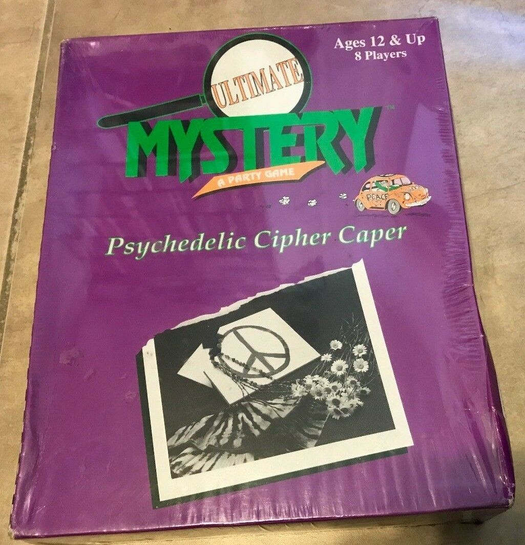 Ultimate Mystery Party Game Game Game Psychedelic Cipher Caper NEW Sandpiper Creations ed14e5