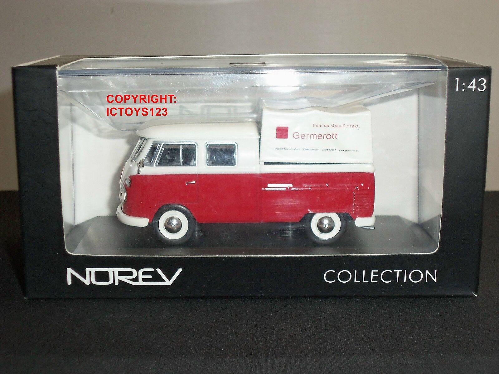 Bonne année, achat de recettes, cadeaux Norev 840214 volkswagen vw tic doka transporteur diecast modèle van | 2019