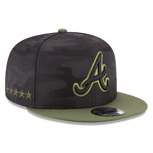 Buy Atlanta Braves Hat Era 2018 Memorial Day Snapback MLB 9fifty Adjustable  online  b0003e08f3f