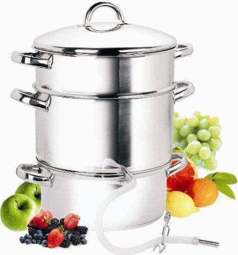 Cook N Home 11-Quart Stove Top en acier inoxydable cuisine vapeur Centrifugeuse avec recettes