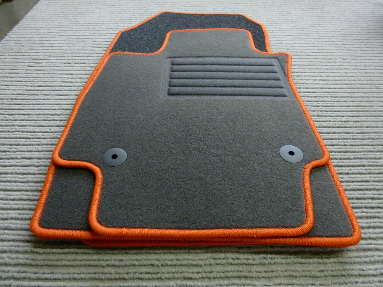 NEU RAND BLAU Gummi Fußmatten Gummimatten für Citroen DS7 DS 7 Crossback