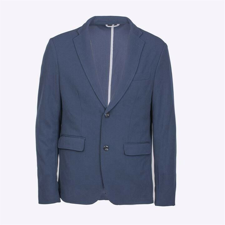 Giorgio - Mens Stretch Blazer Navy bluee Medium (38 Chest)
