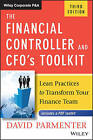 The Financial Controller and CFO's Toolkit: Lean Practices to Transform Your Finance Team by David Parmenter (Hardback, 2016)