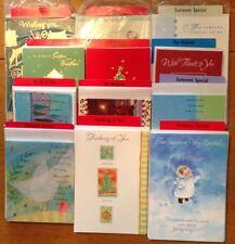 74 Hallmark Christmas Greeting Card Singles from Store Display