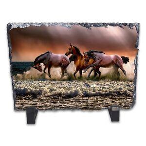 Wild-Horses-Rock-Slate-Photo-Frame-Rectangle