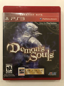 Demon-s-Souls-Sony-Playstation-3-PS3-Complete-w-Case-amp-Manual