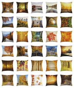 Fall-Throw-Pillow-Cases-Cushion-Covers-Home-Decor-8-Sizes-Ambesonne