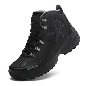 Waterproof-Men-039-s-Hiking-Shoes-Trekking-Climbing-Boots-Outdoor-Sports-Athletic