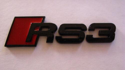 Black RS3 Badge
