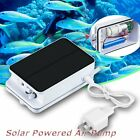 Solar Powered Portable Pool Pond Fish Tanks Oxygenator Oxygen Aerator Air Pump#L