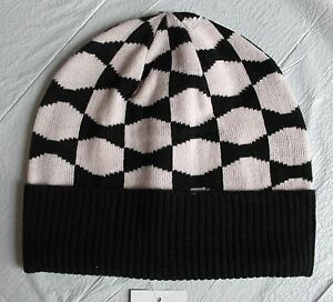 b0100958dbd Kate Spade New York Signature Bow Beanie Hat Black   Pastry Pink 0ne ...